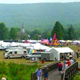 View of Boalsburg's The Peoples Choice Festival