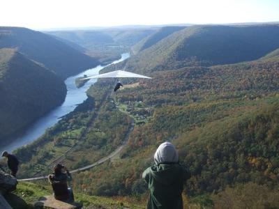 Hang Gliders at Hyner Lookout near Renovo