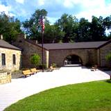 photo of the view outside the Allegheny Portage Railroad Museum