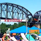 photo taken from Sandcastle Water Park of bridge over Monongahela river