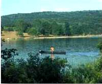 photo of the view of Shawnee Lake