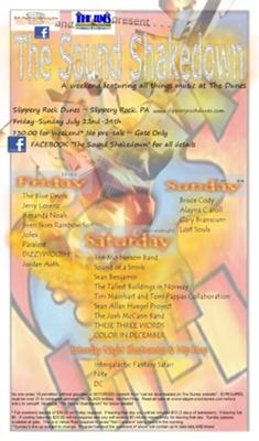 2011 Sound Shakedown Flyer