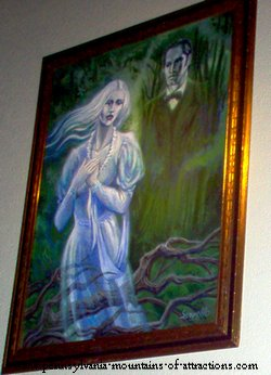 White Lady of Wopsy Mountain, painting by Joe Servello