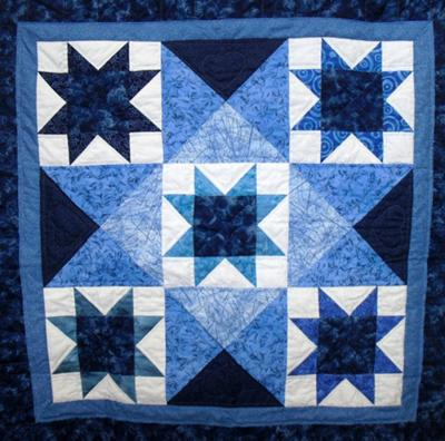 Blueberry Stars quilt to be raffled