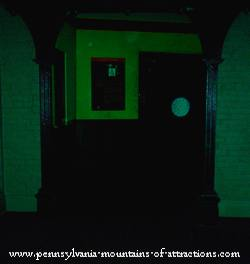 ghostly energy orb I caught in the hall at Altoona Railroad Museum Pennsylvania Ghost Hunt