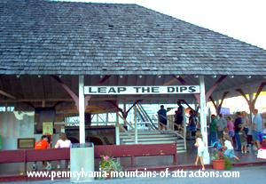 photo of the entrance to the Leap The Dips