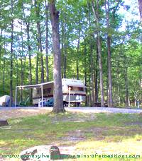 PA camping site