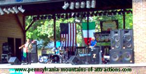 Italian Concert at DelGrosso Amusement Park's