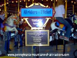 PA amusement parks,Award from National Carrousel Association