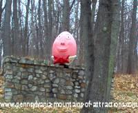 Humpty Dumpty sitting on the wall