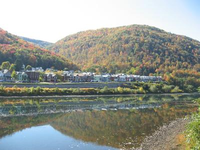 South Renovo PA in the Fall