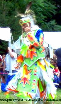Native American dance at DelGrosso Park
