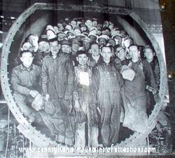Picture of steam boiler gang that worked for Pennsylvania Railroad